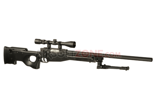 L96 Sniper Rifle Set Black (Well)