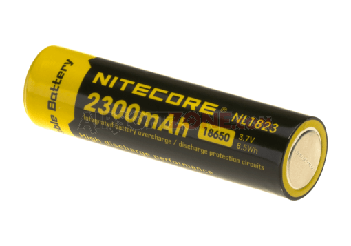 18650 Battery 3.7V 2300mAh (Nitecore)