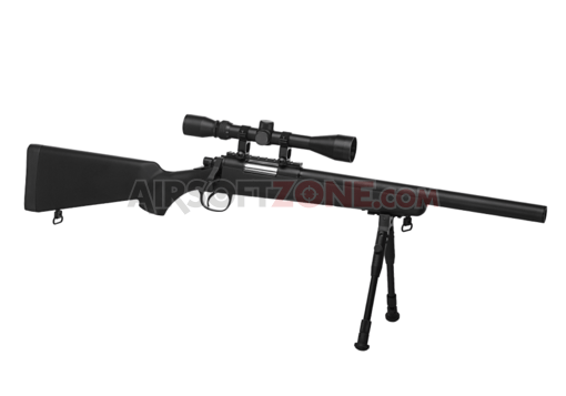 SR-1 Short Barrel Sniper Rifle Set Black (Well)