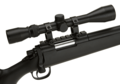 SR-4 Sniper Rifle Set Black (Well)