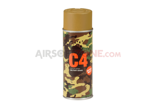C4 Mil Grade Color Spray RAL 8000 (Armamat)