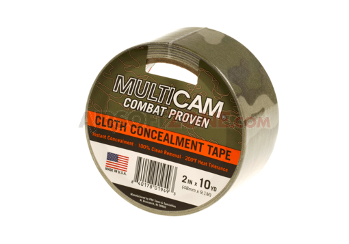 Cloth Concealment Tape 2 Inches x 10 yd Multicam (Pro Tapes)