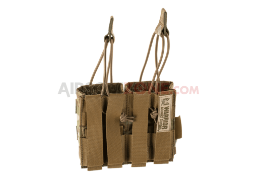 Double Open Mag Pouch AK 7.62mm Multicam (Warrior)