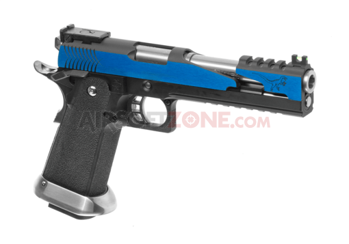Hi-Capa 6 T-Rex Customs Full Metal GBB Blue (WE)