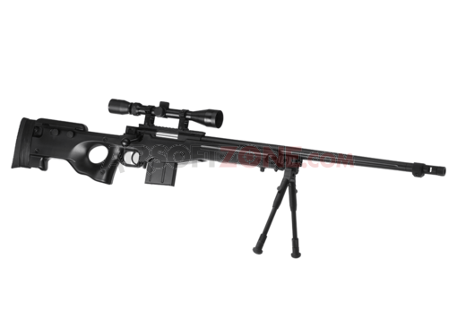 L96 AWP FH Sniper Rifle Set Black (Well)