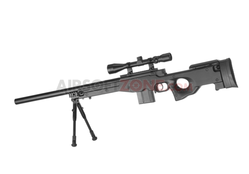 L96 AWP Sniper Rifle Set Black (Well)