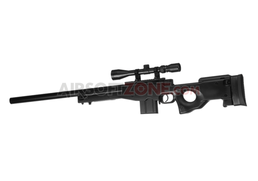 L96 AWP Sniper Rifle Set Upgraded Black (Well)