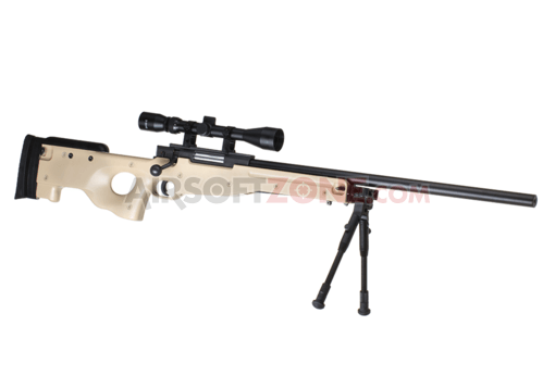 L96 Sniper Rifle Set Upgraded Tan (Well)