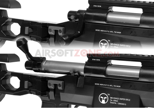 MS700 Bolt Action Sniper Rifle Black (Ares)