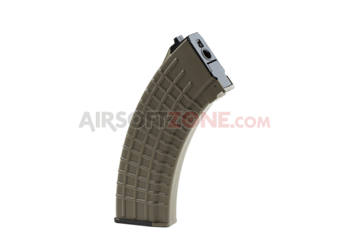 Magazin AK47 Waffle Hicap 600rds Dark Earth (King Arms)