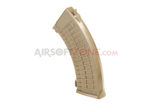 Magazin AK47 Waffle Hicap 600rds Tan (Pirate Arms)