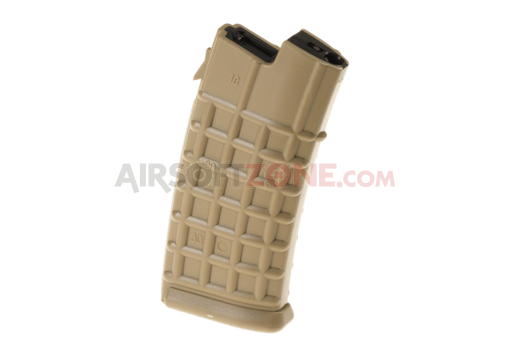Magazin AUG Hicap 330rds Tan (Battle Axe)