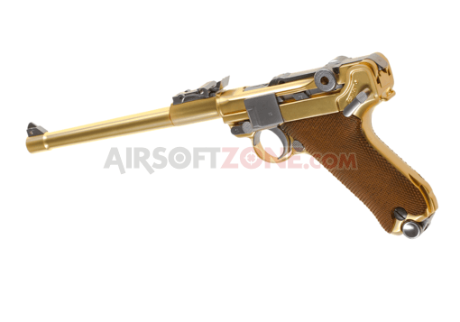 P08 8 Inch Full Metal GBB Gold (WE)